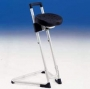 Stand Aid with a rotatable anti slip seat