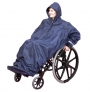 Wheelchair WheelyMac raincoat with sleeves