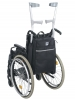 Wheelchair crutch and Stick Holder and bag