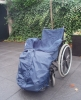 Wheelchair leg pocket luxury